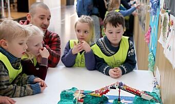 Barnehagedagen: Hos oss lurer vi på...