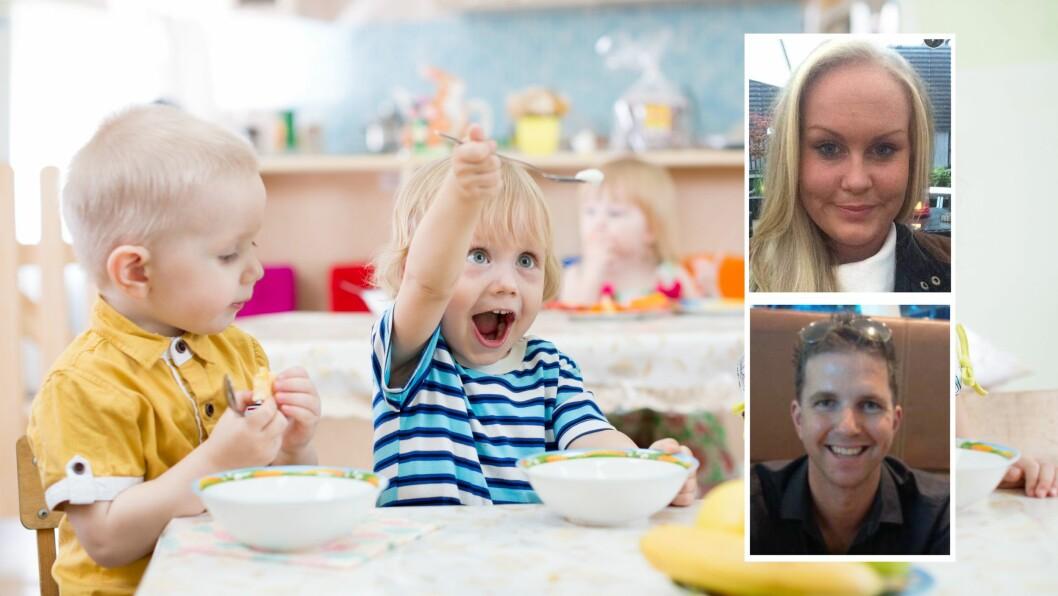 «Kunnskapen om mat og måltid må opp på dagsordenen for å sikre kvaliteten i barnehagen og for å sørge for barns helhetlige utvikling,» mener kronikkforfatterne.