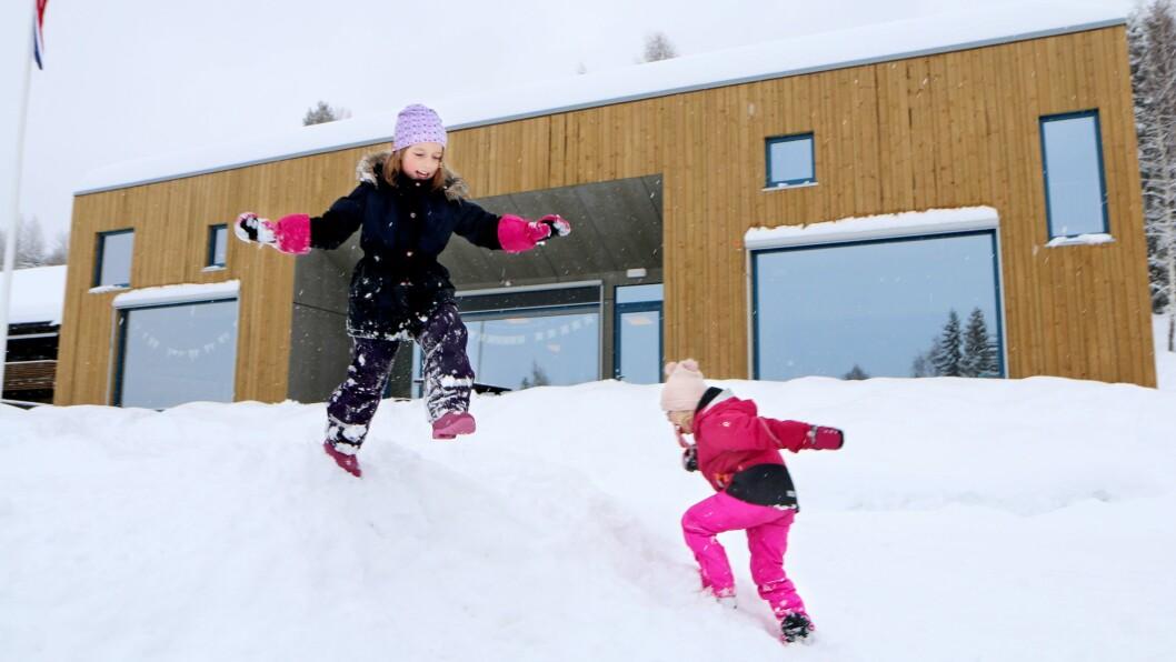 Barna i Hageuhaugen er blitt både sterkere og tøffere de siste månedene.