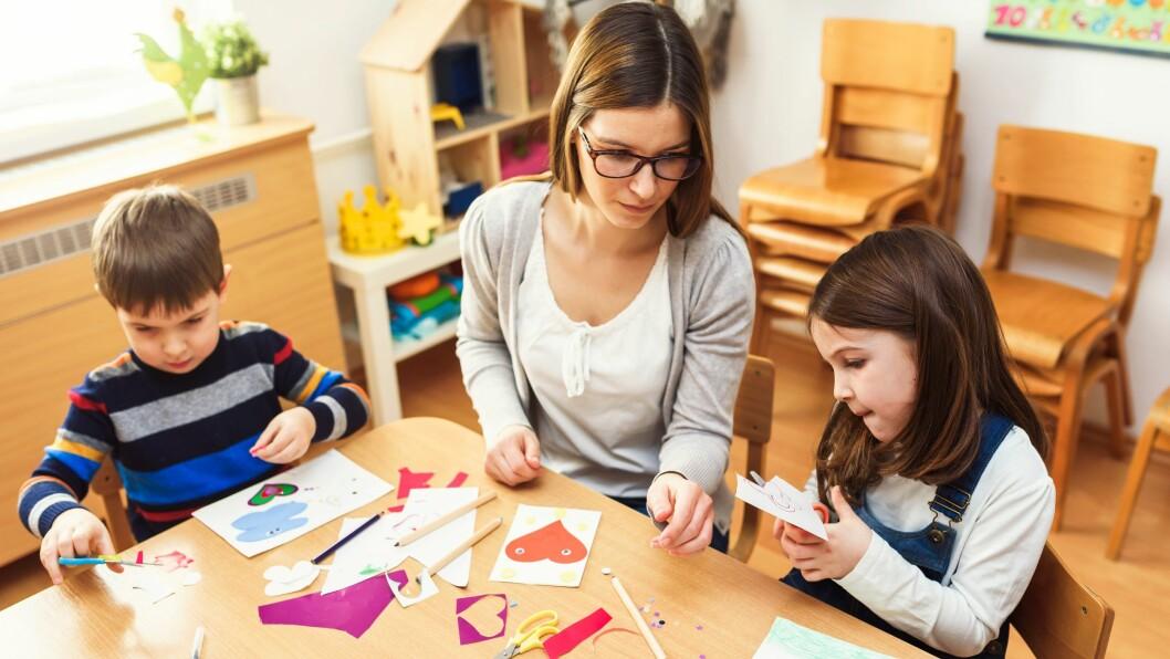 31 prosent av ledere og mellomledere i norske barnehager mener at arbeidslivet går i en mer autoritær retning.