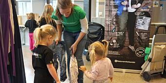 Bytter klær i barnehagen - forlenger klærnes levetid