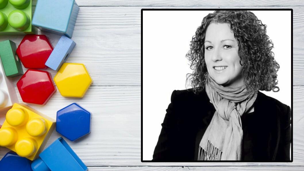 Fra Trondheim til Malvik: Ros-Mari Berre (45) går til jobben som kommunalsjef for barn og unge i Malvik kommune.