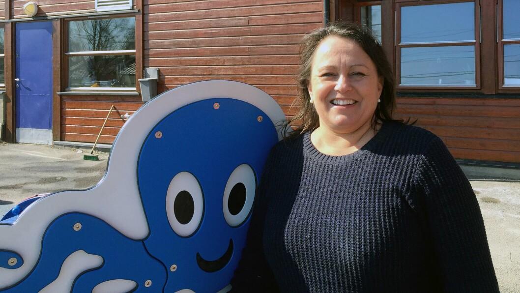 Hege Skonnord, daglig leder i Stubben barnehage, fikk i går beskjed om at hun får over en million kroner mer å rutte med enn hun har i årets budsjett.