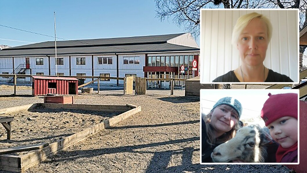 Mens mange kunne juble over ekstra penger til bemanning, kom noen barnehager akkurat utenfor lista. Styrer Linn Almendingen i Barnetun barnehage (øverst) og Linda Skeide i Fjellsøya barnehage i Brønnøysund driver i tillegg barnehage i den kommunen som bruker aller minst penger på barnehagene sine.