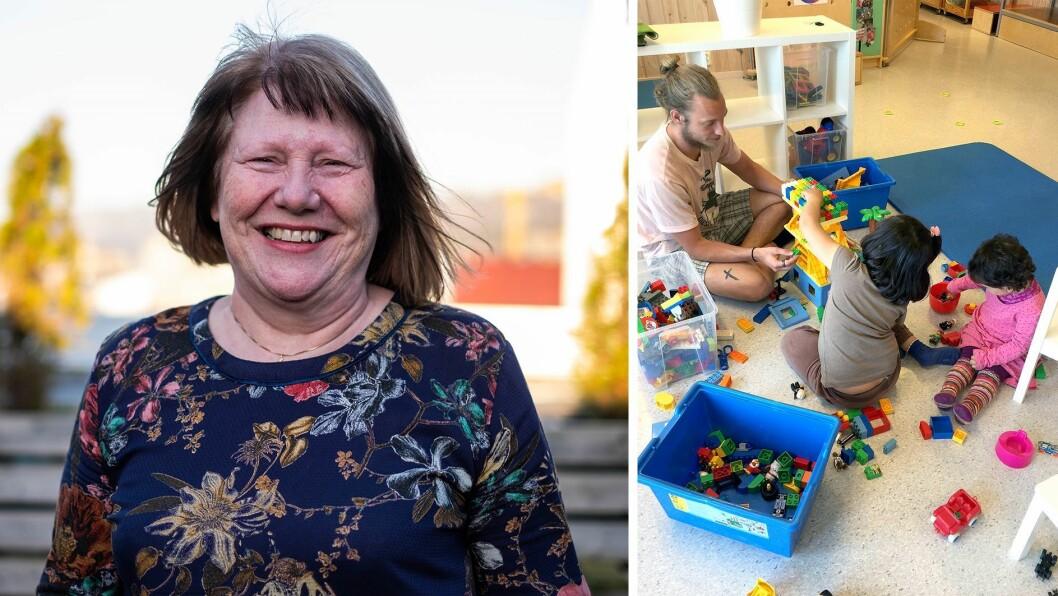 Styrer Unni Sirevåg Lende i Espira Ormadalen barnehage har erfaring med å ta imot barn fra konfliktområder. Da kommunen opprettet asylmottak, tok hun initiativ til en velkomstgruppe for både barna og foreldrene deres.