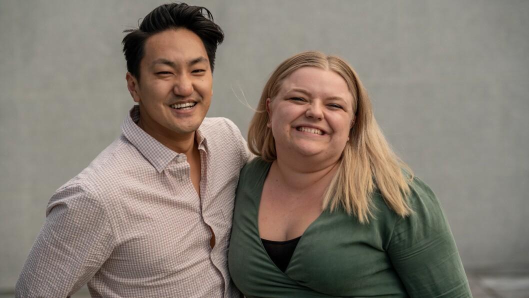 Frank Aleksander Bræin og Elise Håkull Klungtveit er leder og nestleder av Pedagogstudentene.