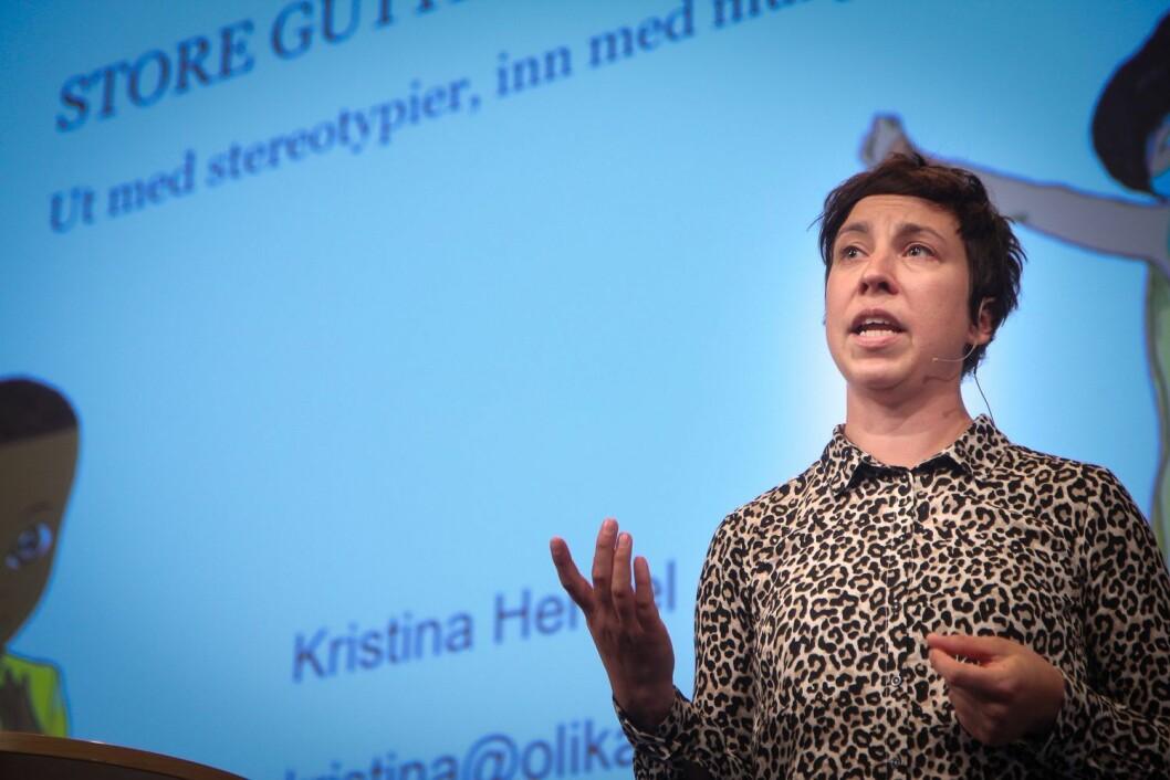 Kristina Henkel snakket på Nordiske Impulser.