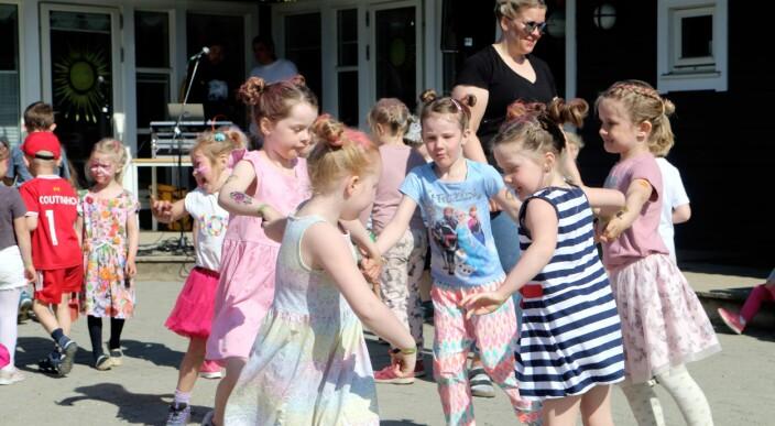 – Ikke alle barnehager som har en Spellemann-vinner blant foreldrene