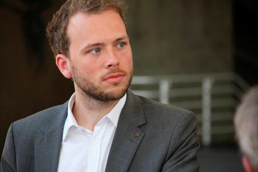 Stiller til debatt: SV-leder Audun Lysbakken.