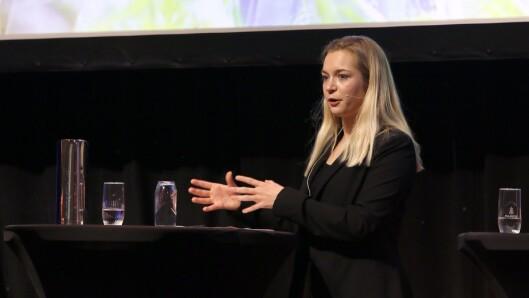 Mathilde Tybring-Gjedde (H) er imponert over hvor langt sektoren har strukket seg. Og mener det kloke valget er å gi kommunepolitikerne et handlingsrom til å bestemme selv hvordan ekstraoverføringer fra staten skal brukes.