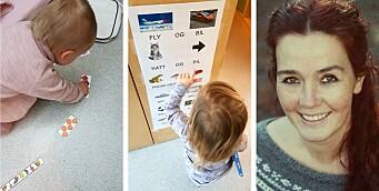 – Slik jobber vi med visuelle møteplasser i barnehagens hverdagsrom