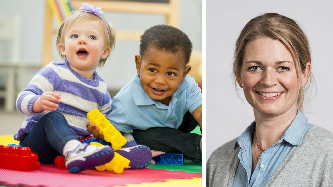 Hovedmålet med Trygg før 3 er å fremme god barnehagekvalitet for ett- og to-åringer, forteller prosjektleder og forsker i RBUP Øst og Sør, Elisabet Solheim Buøen.