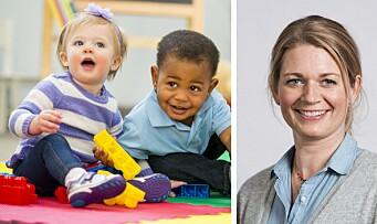 Forsker på hvordan barnehagekvaliteten kan bli bedre for de aller yngste