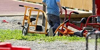 Foreldrebetalingen har gått opp tre prosent