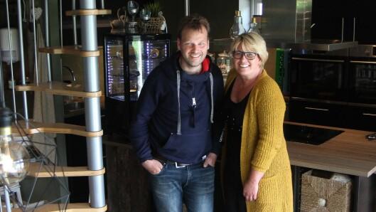 Skoie Gårdsbarnehage drives av Nils-Frode og Tone Larsen