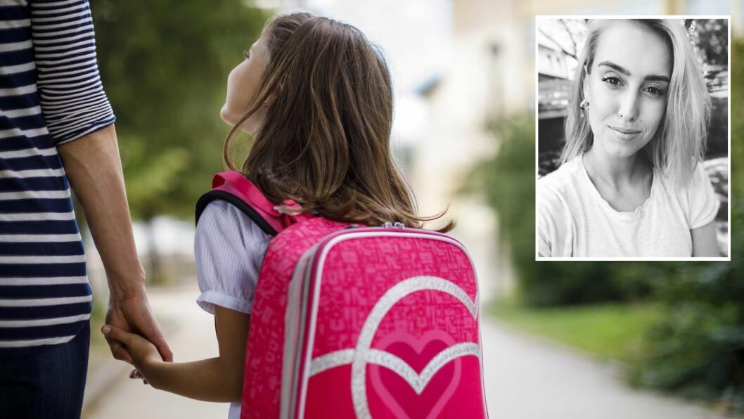 «Det er ikke til å stikke under en stol at barna i barnehagen setter dype spor, hver enkelt,» skriver Stine Ø. Webenstad.