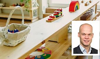Han får ansvaret for barnehagene i Oslo