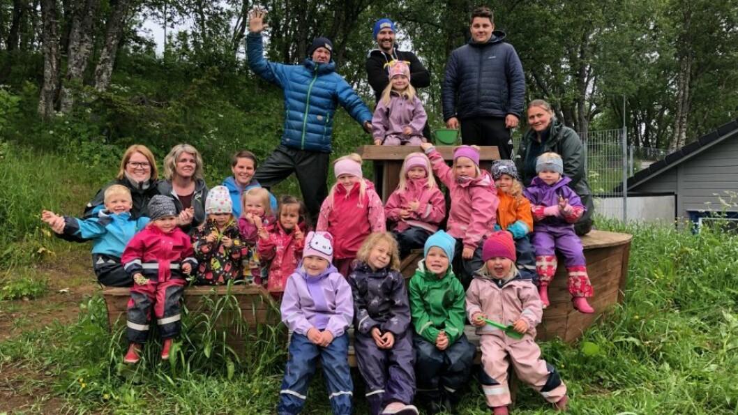 Asphaugen friluftsbarnehage er en av fem finalister som kan vinne tittelen «Årets barnehage 2019».