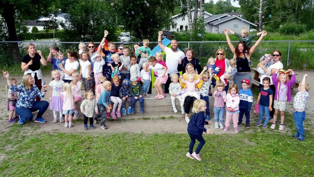 Skrapeklev barnehage er nominert til Årets barnehage 2019.