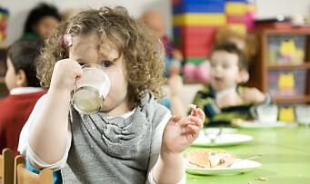 «Det er veldig få som er klar over at barna ikke får nok fett i barnehagen»