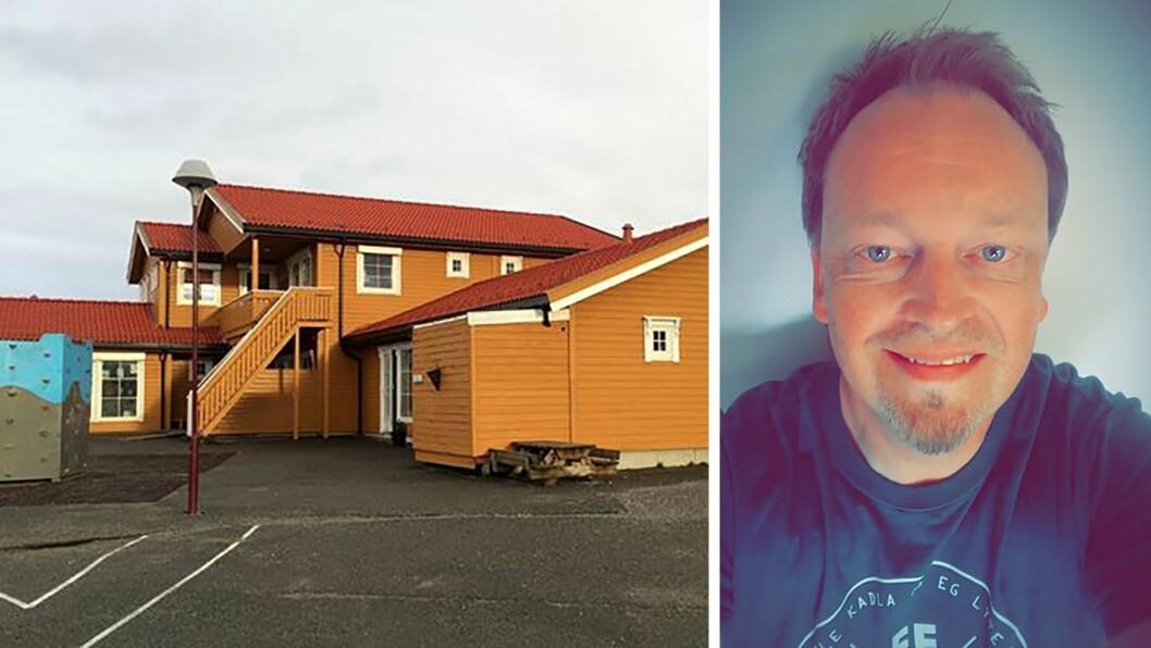 – Barn og unges oppvekstvilkår er min hjertesak, sier Rune Andreas Brennvik, som nå går inn i innspurten på valgkampen for Rødt, og samtidig jobber i Norlandia Kløvermarka barnehage.