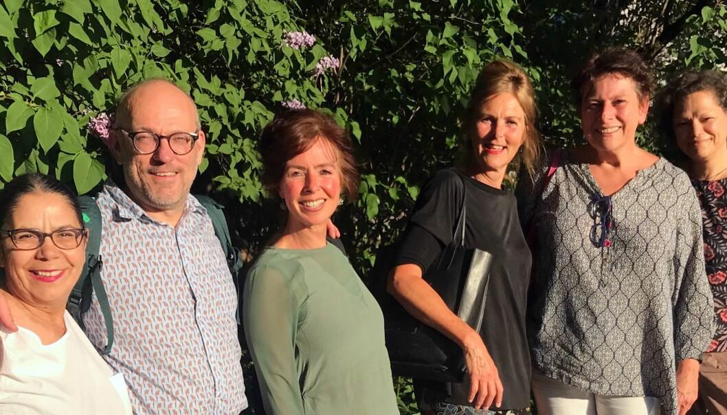 Representanter fra Nederland, Norge Belgia og England har deltatt i Erasmus+-prosjektet. Fra venstre Ferruh Özalp, prosjektleder Jeroen Aarssen, Lilian van der Bolt, Margareth Sandvik, Ankie Vandekerckhove og Ianthi Tsimpli. Også Paulien Muller, Brechtje Post og Monica Poulter har deltatt i prosketet.