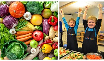 La barna lage maten
