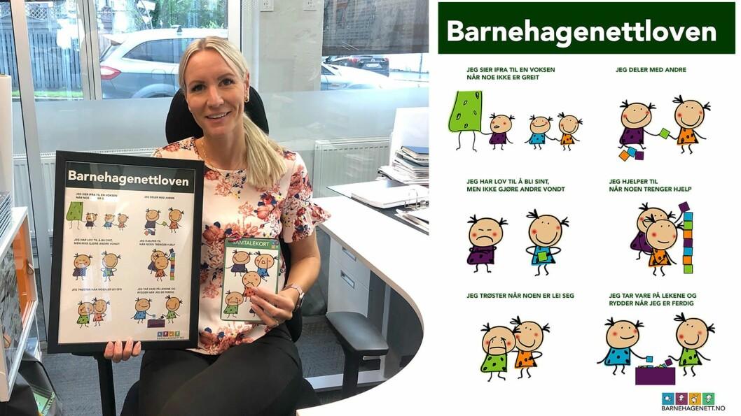 ProsjektlederTuri Dolve Lund i Barnehagenett har den siste tiden jobbet med å utarbeide ny handlingsplan mot mobbing - og en egen mobbelov.