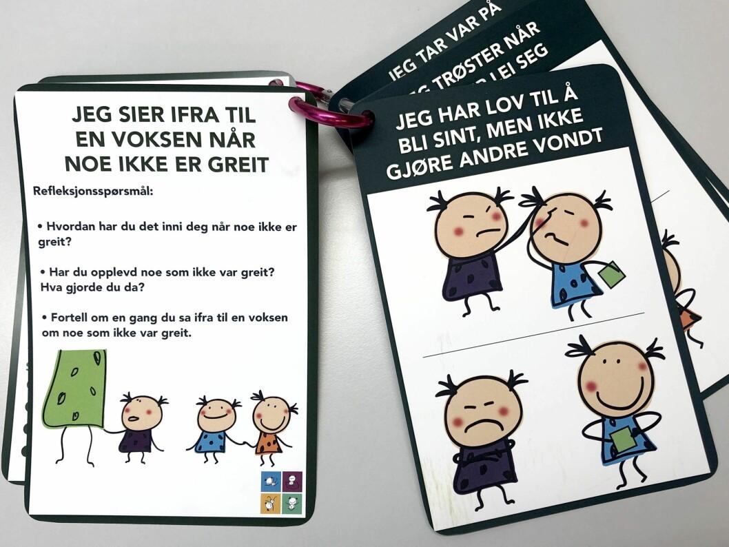 Barnehagenett-loven er et godt utgangspunkt når de ansatte skal snakke med barna.