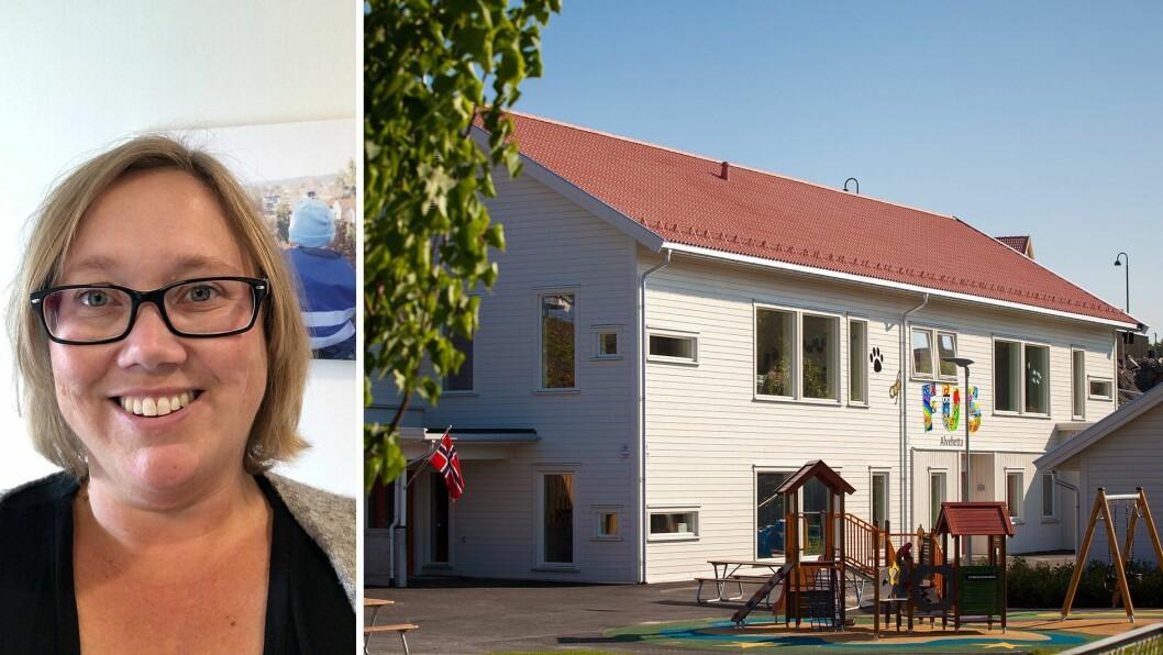 - Barna vet jo ikke at de går i en privat eller kommunal barnehage. De vil jo bare ha en barnehage de kan leke og trives i, med likeverdige utgangspunkt. Og det håper jeg alle barn i Norge kan få, skriver Siri Fyhn Lilleødegård.