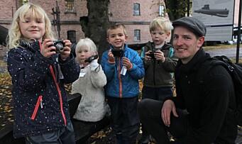 Femåringene ble utstyrt med kamera: – Barna tryllet fram en annen verden