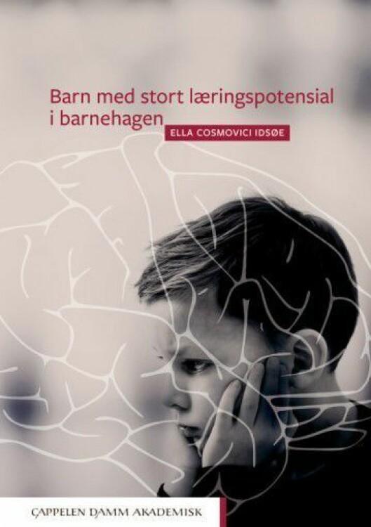 Boka «Barn med stort læringspotensial i barnehagen» er utgitt på forlaget Cappelen Damm Akademisk.