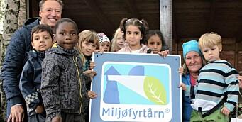 Nå har alle Kanvas-barnehagene status som Miljøfyrtårn