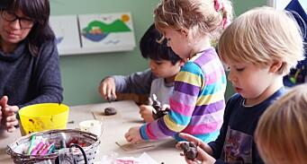– Vi vil skape en generasjon kreative barn