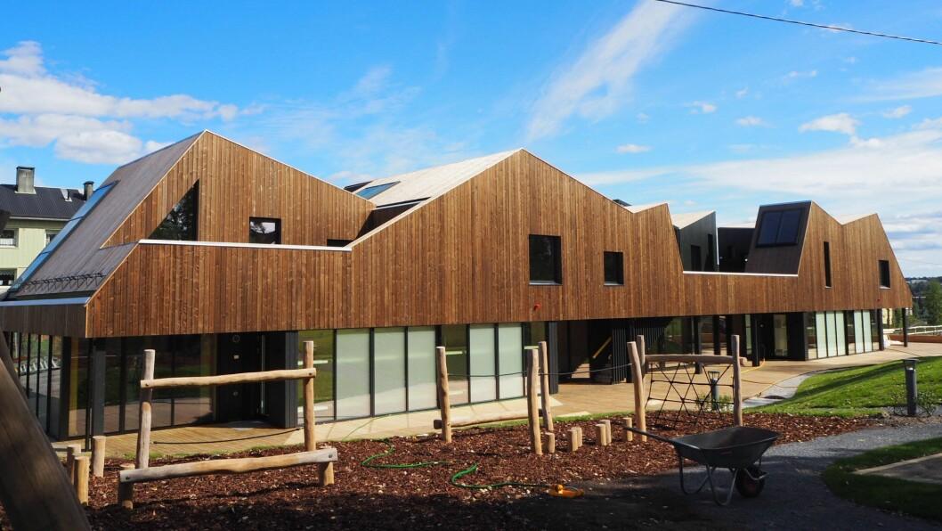 Nordtvet gård barnehage på Kalbakken i Oslo kan vinne Oslo bys arkitekturpris 2019.