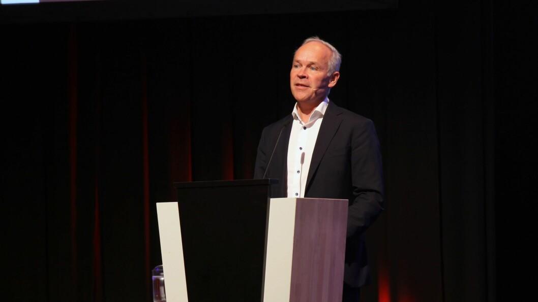 Kunnskaps- og integreringsminister Jan Tore Sanner (H) ønsker velkommen til regjeringens årlige integreringskonferanse.