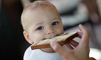 Høyt gluteninntak ved 18 måneders alder er forbundet med økt risiko for cøliaki