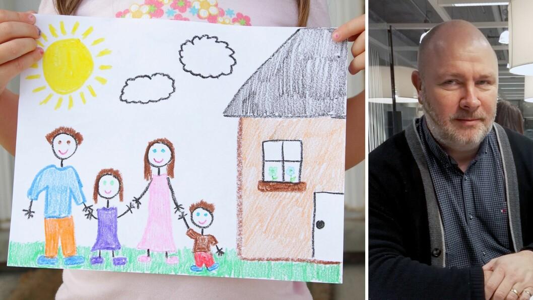 Eier Ronny Vegar Bakker iGapahuken natur- og friluftsbarnehage makulerte mappene til barna i barnehagen - som inneholdt bilder og tegninger.