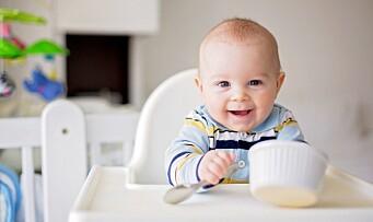 «Mer enn 80 prosent av alle ettåringer får sitt hovedmåltid fra glass og poser»