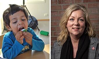 Råd fra eksperten: Hvordan få toåringen i barnehagen til å smake på ny mat?