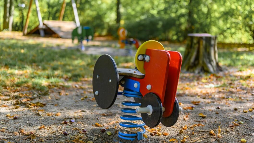 STORE FORSKJELLER: Mens norske familier i gjennomsnitt bruker 6 prosent av inntekten sin på barnehage, må småbarnsforeldre i Storbritannia ut med 36 prosent av sin samlede inntekt for en barnehageplass.