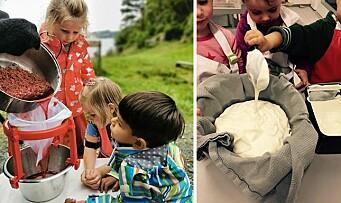 – Å skape gode matopplevelser i barnehagen er veldig viktig for oss