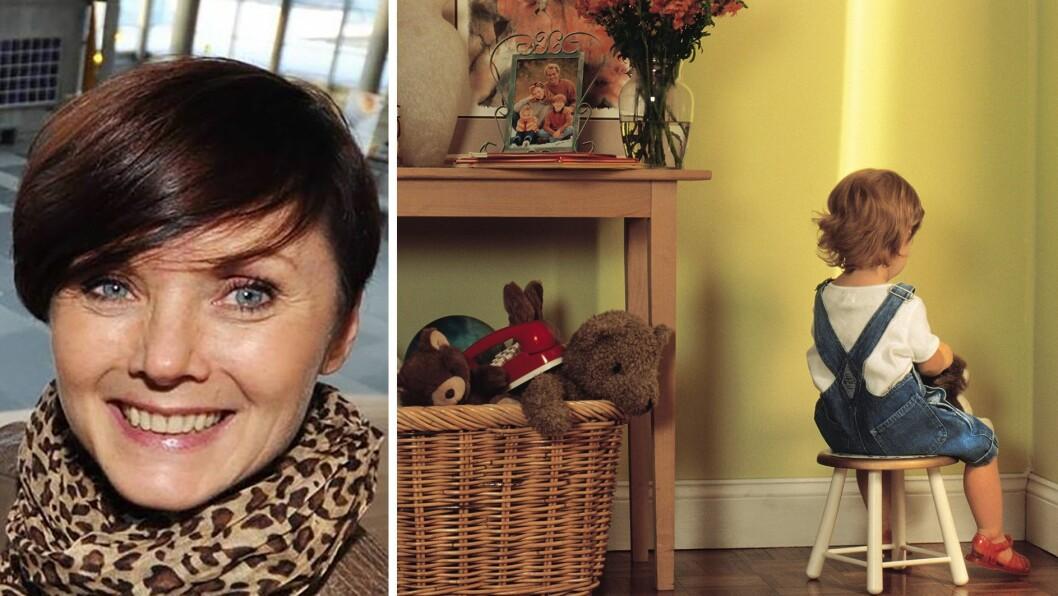 - Barn som er lei seg eller sinte trenger time-in mer enn time-out., skriver mobbeforsker Ingrid Grimsmo Jørgensen.
