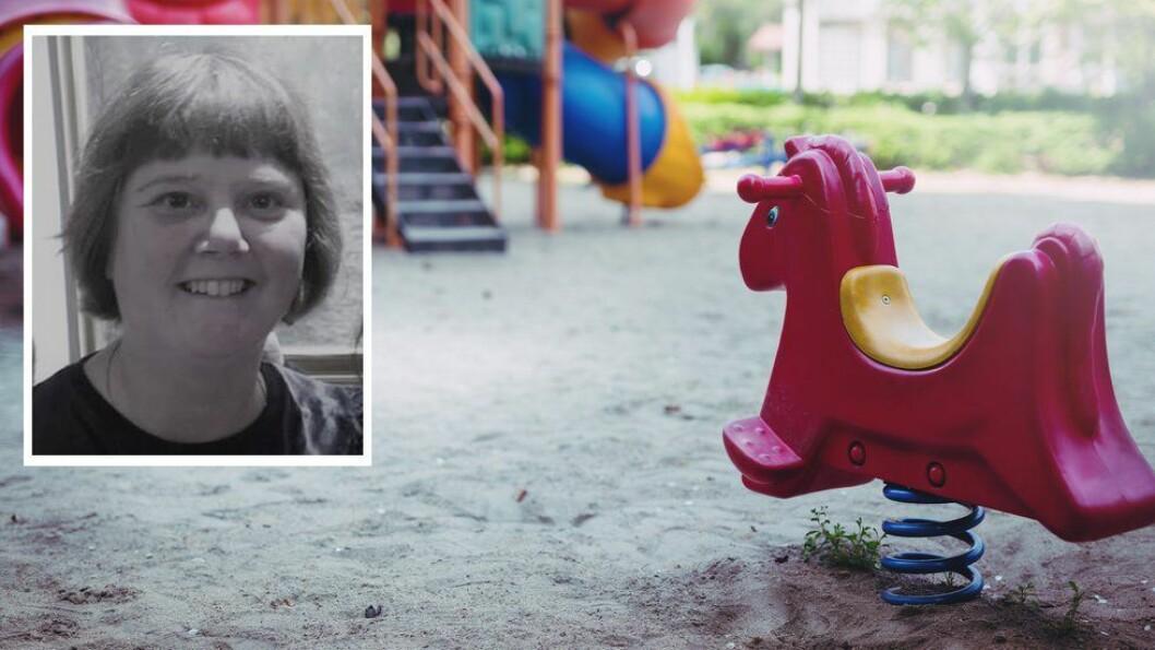 «I løpet av mine 20 år i arbeid med barn og unge, har jeg ikke møtt en barnehage som bruker time-out som en del av sin pedagogiske virksomhet,» skriver artikkelforfatteren.