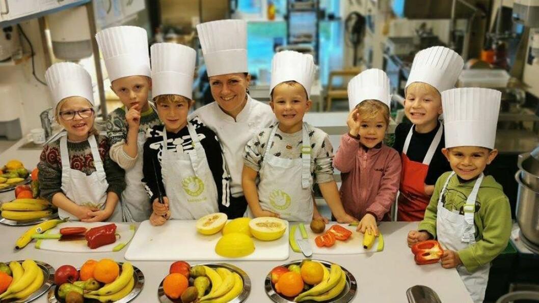 Drømmehagen barnehage er kåret til «Årets matgledebedrift 2019».