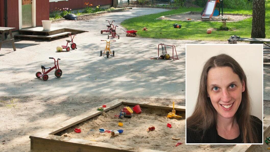 «Dette innlegget handler om etiske dilemmaer når evidensbaserte metoder beveger seg inn i barnehagen,» skriver artikkelforfatteren.