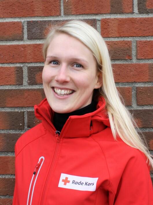 Iselin Tanum er nasjonal prosjektleder i Røde Kors for Henry - Førstehjelp for barnehagebarn.