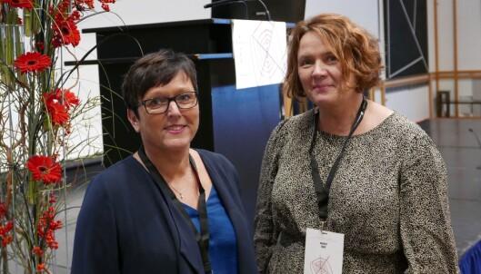 Gerd Sylvi Steinnes (tv) og Marit Bøe