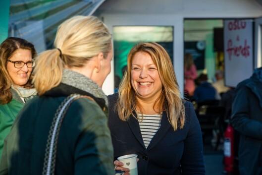 Anita Lindahl Trosdahl, prosjektleder for Oslo europeisk miljøhovedstad 2019.