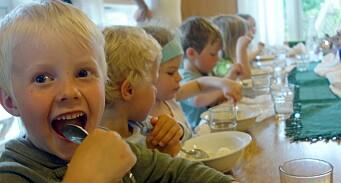 Steinerbarnehagene vant pris: – De lar barnas sanser, lek og nysgjerrighet styre